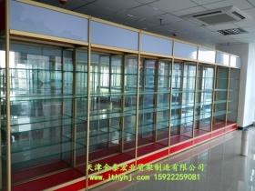 精品钛合金展柜JT-005