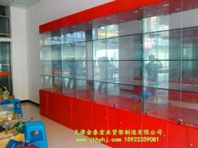木质玻璃展柜JT-002