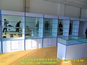 木质玻璃展柜JT-006
