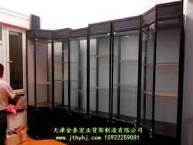 钛合金精品展柜JT-015