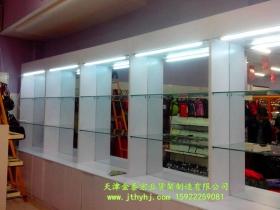 木质玻璃展柜JT-001