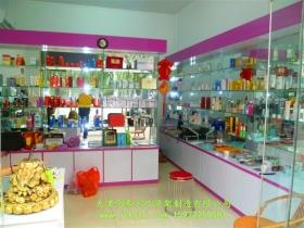 木质玻璃展柜JT-015
