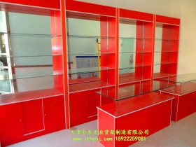木质玻璃展柜JT-016