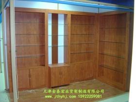 木质玻璃展柜JT-004