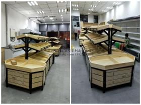 钢木果蔬/生鲜货架JT-004