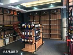 钢木红酒展柜JT-013